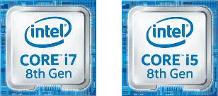 intel CORE i7 8th Gen,intel CORE i5 8th Gen