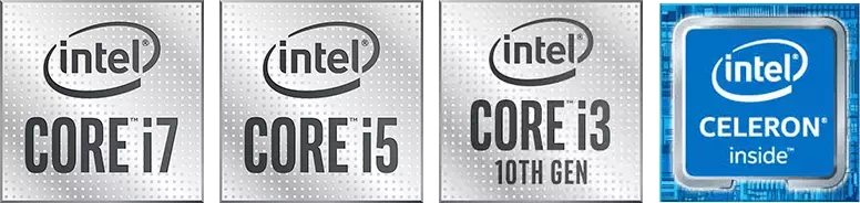 intel CORE i7 10th Gen,intel CORE i5 10th Gen,intel CORE i3 10th Gen,intel CELERON inside