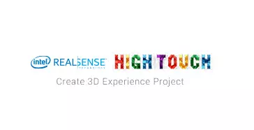 Intel REAL SENSE HIGH TOUCH Create 3D Experience Project